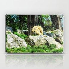 THE LION SLEEPS TODAY Laptop & iPad Skin