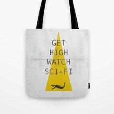 watch sci-fi Tote Bag