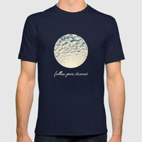Clouds Effect Mens Fitted Tee Navy SMALL