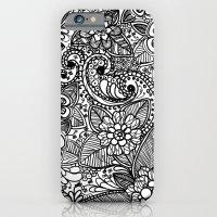 Flower Fountain iPhone 6 Slim Case