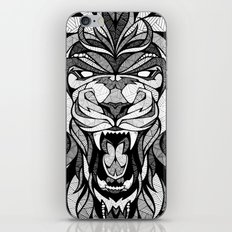 Angry Lion - Drawing iPhone & iPod Skin