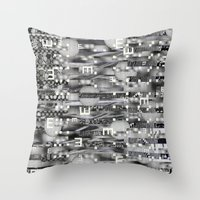 Atomic Bokeh (P/D3 Glitc… Throw Pillow