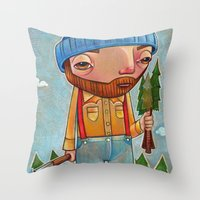 Shantyboy Throw Pillow