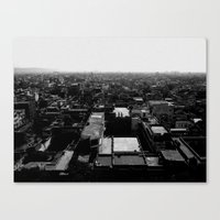 Jaipur View Canvas Print