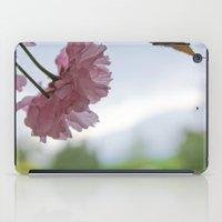 Pink Flowers iPad Case