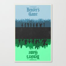 Futurama - Bender's Game Canvas Print