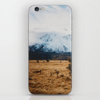 Peaceful New Zealand mountain landscape iPhone & iPod Skin