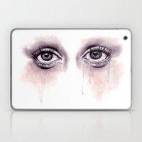 Bloodshot Eyes Doodle  Laptop & iPad Skin