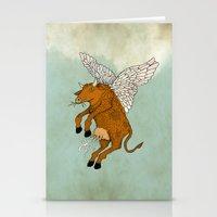 Las Vacas Voladoras - El… Stationery Cards