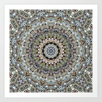Colorful Ornate Abstract Art Print