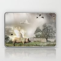 Pig with Wings Laptop & iPad Skin