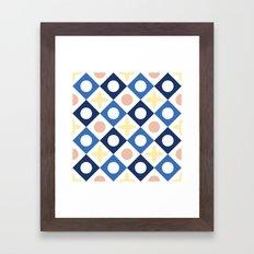 Floor tile 6 Framed Art Print