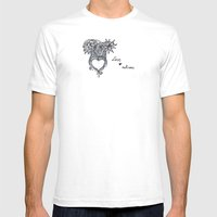 Love Of Nature Mens Fitted Tee White SMALL