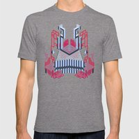 Keep Of The Blue Lobster Mens Fitted Tee Tri-Grey SMALL