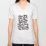 I Love You In The Mornin… Unisex V-Neck