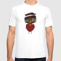 Yours Mens Fitted Tee White SMALL