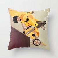Oops (BumbleBee) Throw Pillow