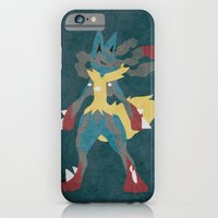 iPhone & iPod Case featuring Mega Lucario by JHTY