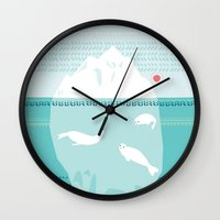 The Ice Lovers Wall Clock
