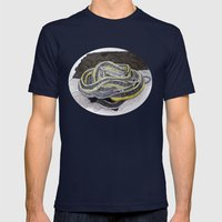 Nest Mens Fitted Tee Navy SMALL