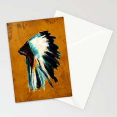 Native Headdress Stationery Cards