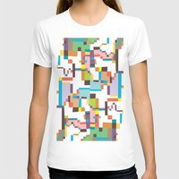 Reflections 3 Womens Fitted Tee White SMALL