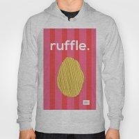Ruffle Hoody