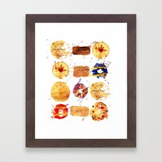 My Biscuits Framed Art Print