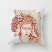Sensory Overload Throw Pillow