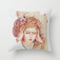 Sensory Overload Throw Pillow