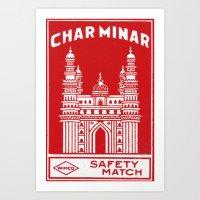 Wimco Match Art Print