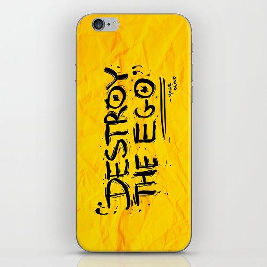 Destroy the Ego iPhone & iPod Skin