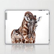 Giraffe with Baby Giraffe Laptop & iPad Skin