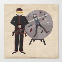 Frontier Acupuncturist Canvas Print