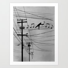 High Notes Art Print