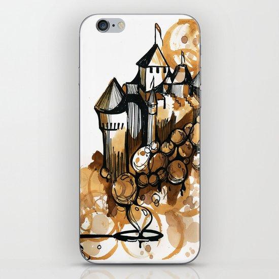 Castle float iPhone & iPod Skin
