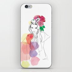 Flower Crowns iPhone & iPod Skin