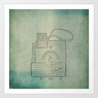 Camera Study No. 2 Art Print