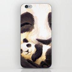 Cuddly panda iPhone & iPod Skin