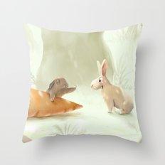 No..! Throw Pillow