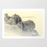 Heavenly Stampede Art Print
