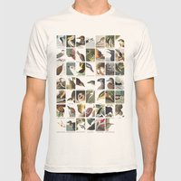 Birds of America Mens Fitted Tee Natural SMALL