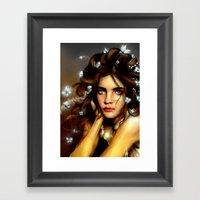 Natalia´s Hair Butterfl… Framed Art Print