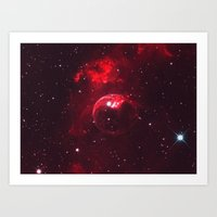 Fear Of A Red Planet Art Print