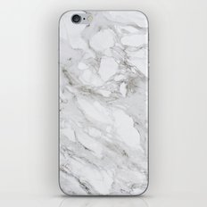 White Marble 01 iPhone & iPod Skin
