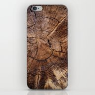 Knock On Wood iPhone & iPod Skin