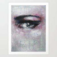 Quiet-Colored End Of Eve… Art Print