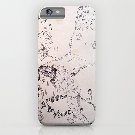 over around under and through iPhone & iPod Case