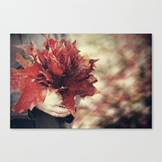 An Autumnal Occasion Canvas Print