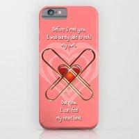 Clip Heart Valentine iPhone 6 Slim Case